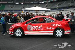 Peugeot 307 WRC en exhibición