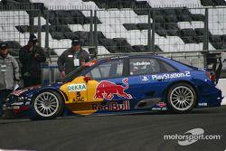Mattias Ekström en el auto Abt-Audi A4 DTM