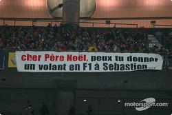Mensaje a Santa Claus: da un paseo en Fórmula 1 a Sébastien Bourdais