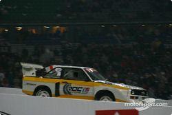 Michèle Mouton drives her Audi S1