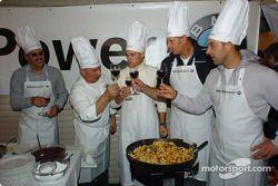 Jorg Muller, Hans Stuck, Dirk Muller ve Dr Mario Theissen