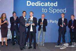 Sebastian Vettel ve Dr Mario Theissen