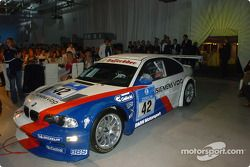 Jorg Muller in the Spa 24 hour race winning BMW M3