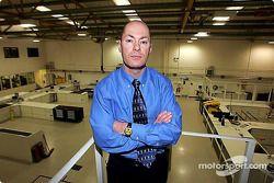 Jordan technical director Mark Smith