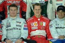 David Coulthard et Michael Schumacher