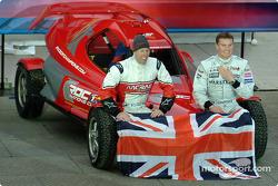 Equipo Gran Bretaña: Colin McRae y David Coulthard