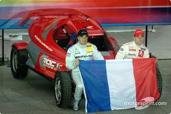 Equipo de Francia 1: Jean Alesi y Sébastien Loeb