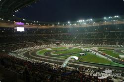Vista del estadio de Francia