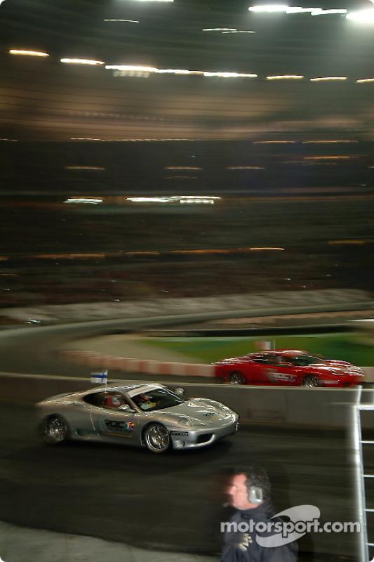Final: Heikki Kovalainen y Jean Alesi