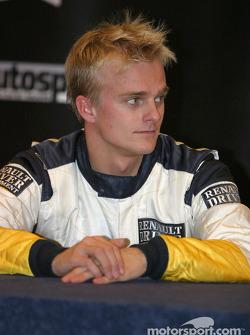 Conferencia de prensa: Heikki Kovalainen