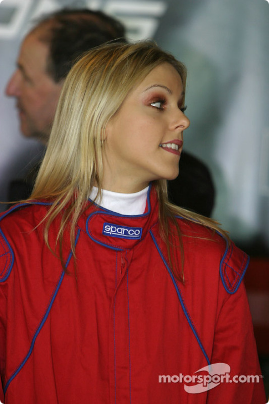 Une spectaculaire Grid Girl
