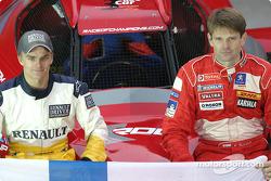 Equipo de Finlandia: Heikki Kovalainen y Marcus Gronholm