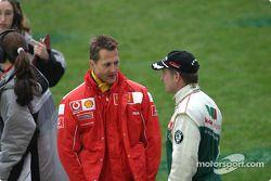 Michael Schumacher y Armin Schwarz