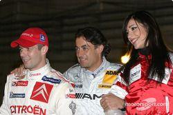 Sébastien Loeb y Jean Alesi