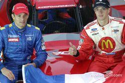 Team France Playstation: Stephane Sarrazin y Sébastien Bourdais