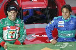 Equipo Brasil: Tony Kanaan y Felipe Massa