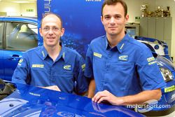Stephane Sarrazin and co-driver Jacques-Julien Ranucci