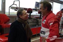 Carlos Reutemann and Jean Todt