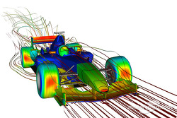 Albert, the new supercomputer for CFD calculations, at work