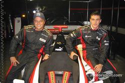 Drivers Gabriele Lancieri and Matteo Bobbi
