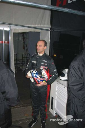 The 2004 FIA GT World Champion, Fabrizio Gollin