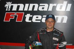 Minardi F1x2 pilotu , Gabriele Lancieri