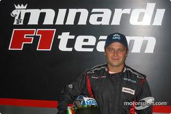 Minardi F1x2 driver, Gabriele Lancieri