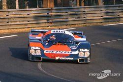 #17 Brun Motorsport Porsche 962C: Oscar Larrauri, Walter Brun, Jésus Pareja