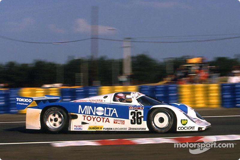 1989 - Toyota 89C-V et Toyota 88C