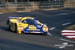 #16 Brun Motorsport Porsche 962C: Uwe Schäfer, Harald Huysman, Dominique Lacaud