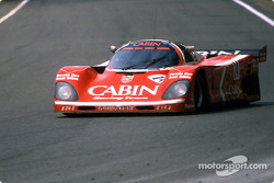 #14 Richard Lloyd Racing Porsche 962C: Derek Bell, James Weaver, Tiff Needell