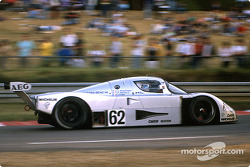 #62 Team Sauber Mercedes Sauber-Mercedes C9: Jean-Louis Schlesser, Jean-Pierre Jabouille, Alain Cudi