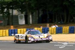 #1 Silk Cut Jaguar Jaguar XJR-9 LM: Ян Ламмерс, Патрик Тамбэ и Эндрю Джилберт-Скотт