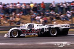 El #20 Porsche 962C del Team Davey: Tim Lee-Davey, Tom Dodd-Noble y Katsunori Iketani.