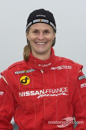 Présentation de l'équipe Nissan Dessoude : Isabelle Patissier