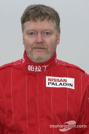 Présentation de l'équipe Nissan Dessoude : Denis Schurger