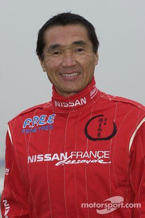 Présentation de l'équipe Nissan Dessoude : Kenjiro Shinozuka