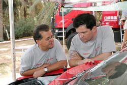 Nissan Rally Raid Team's Pierre Lartigue