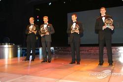 Phil Mills, Petter Solberg, Subaru, and Michael Park, Markko Martin, Ford, FIA World Rally Championship