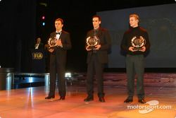 Davide Fore, Arnaud Kozlinski, Bas Lammers, CIK-FIA Karting World Championship