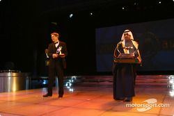 TV: John Morrison, FOM, ve Promoter: Shaikh Fawaz Bin Mohammed Al Khalifa, Bahrain International Cir