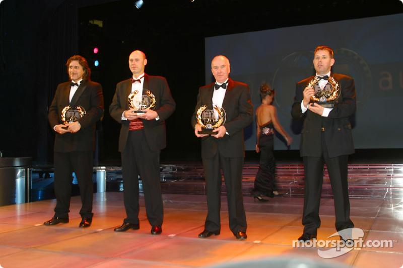 Urs Erbacher, Jimmy Alund, Dave Wilson, Andy Carter, FIA European Drag Racing Championship