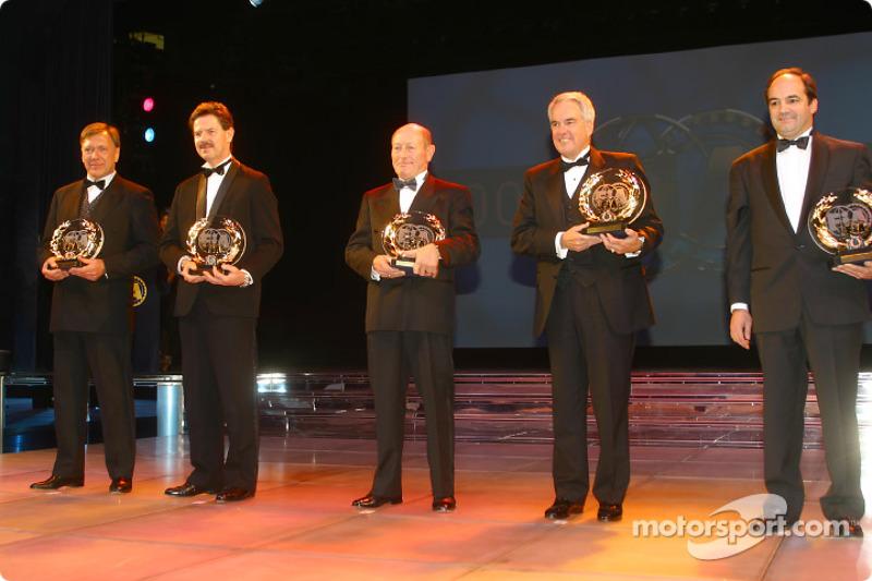 Mike Wrigley, Fredy Kumschick, John Crowson, John Delane, Rodrigo Gallego, FIA Championship for Thoroughbred Grand Prix Cars