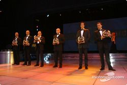 Tiziano Minuti, Fabrizio Gollin, Luca Capoellari, Michael Trunk, Lucas Luhr, Sascha Maassen, FIA GT