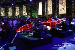 The Ferrari F2004 on display at the 2004 FIA Awards