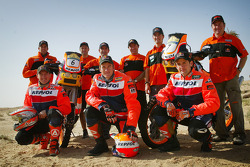 KTM team presentation: KTM Repsol Red Bull riders Marc Coma and Isidre Esteve Pujol