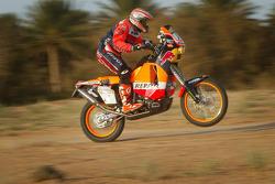 KTM team testing: KTM Repsol Red Bull rider Giovanni Sala