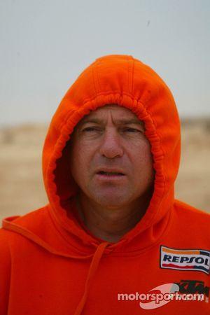 KTM team testing: KTM Repsol Red Bull team manager Jordi Arcarons