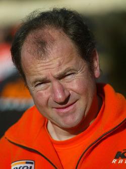 KTM team presentation: KTM Repsol Red Bull team manager Jordi Arcarons