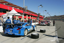 Team Impul pit area